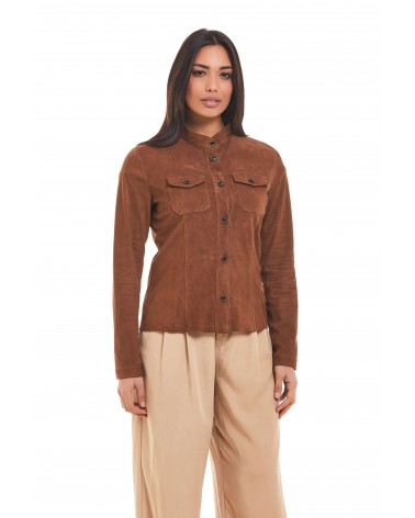 CALIMERA - SUEDE SHIRT - 1