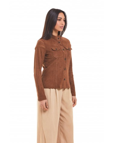 CALIMERA - SUEDE SHIRT - 2