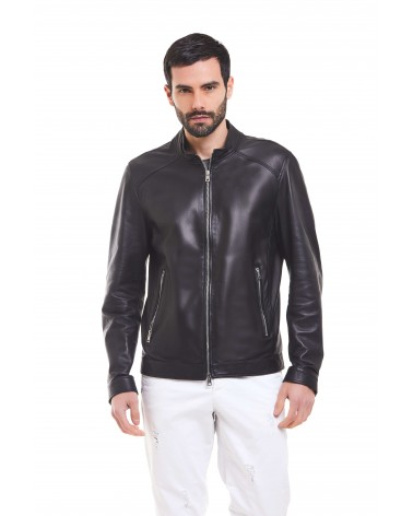 MAGLIE - ANYLINE LEATHER BIKER JACKET - 4
